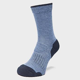 Brasher Women's Light Hiker Socks Blue