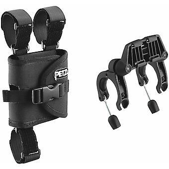 Petzl Plates For Mounting Duo Headlamp On Bicycle Handlebars -