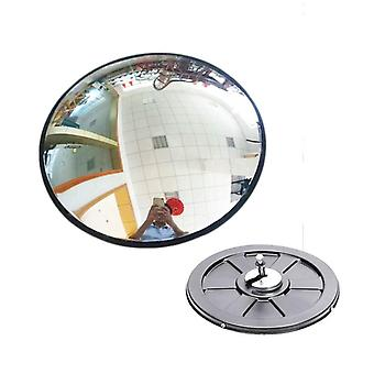 30cm Wide Angle Security Road Mirror Curved For Burglar & Safurance Roadway,