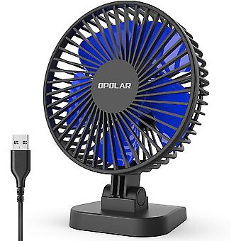 Mini Usb Desk Fan, Whisper Quiet Portable Fan For Desktop Office Table,3
