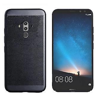 Colorfone Huawei Mate 10 Pro Shell con agujero (negro)