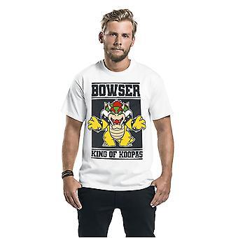 Super Mario Unisex Adult King Of Koopas Bowser T-Shirt