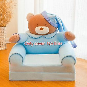 Only Cover No Filling Cartoon Crown Seat, Puff Skin Cover For  Toddler