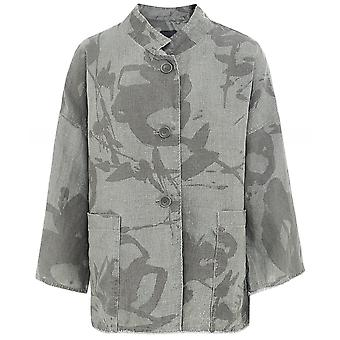 Oska Fylia Floral Linen Jacket