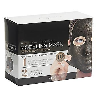 Voesh Premium Facial & Professional Activated Charcoal Modeling Mask