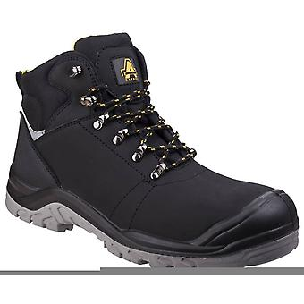 Amblers as252 water-resistant leather safety boots womens