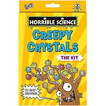 Creepy Crystals Horrible Science Set