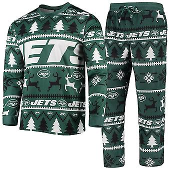 NFL Winter XMAS Pajama Pyjama Pyjama - New York Jets