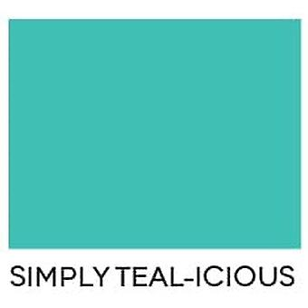 Heffy Doodle Simply Teal-icious Letter Size Cardstock