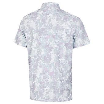 Callaway Golf Mens 2021 Soft Focus Floral Opti-Dri Wicking Polo Shirt