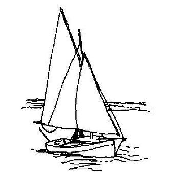 Timbro montato in legno per yacht