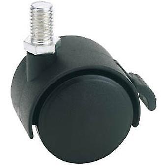 Draper 65465 40mm diametru twin nailon Castor cu frână-S. W. L 25Kg