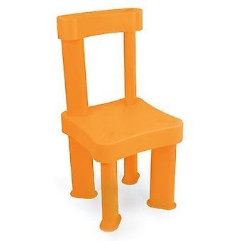 Chaise pour enfants Mochtoys 10293 en plastique 60 x 30 x 30cm pour l'intérieur et l'extérieur