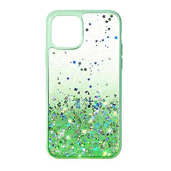 Phone Case (Green) Glitter ShockProof Soft TPU Silicone For iPhone X MAX