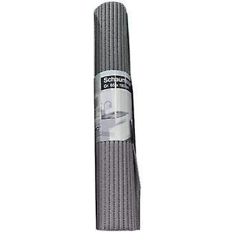 badematte Anti-Rutsch 65 x 180 cm Schaumstoff grau