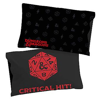 Dungeons & Dragons Red Dragon Critical Hit Dice Pillowcase