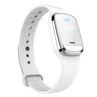 Ultrasonic Mosquito Repellent Bracelet with Temperature Monitoring Waterproof Wrist