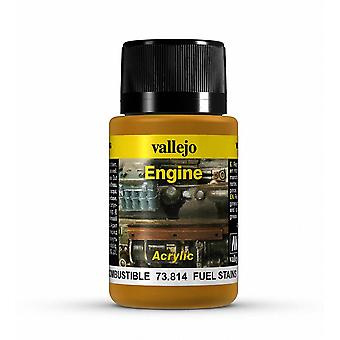 Vallejo Weathering Effects 40ml - Fuel Stains