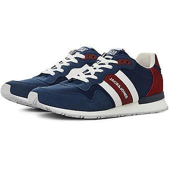 Jack and Jones Heren Sneakers Sportschoenen Low Lace Up Comfortabel