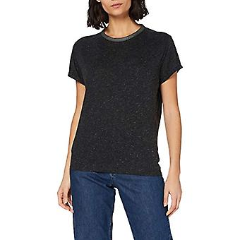 G-STAR RAW Neppy Straight T-Shirt, Dk Black C535-6484, M Woman
