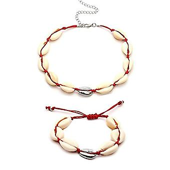 1 set of Procon women's necklace and bracelet with natural shell for woman choker necklace women's jewelry Hawaiian Ref. 0305394651594