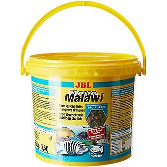 NovoMalawi 30012, Alleinfutter für algenfressende Buntbarsche, Flocken, 5,5 l