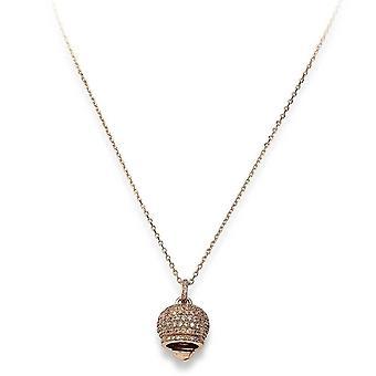 Amen campanella argento rosenguld halsband clpbzrc