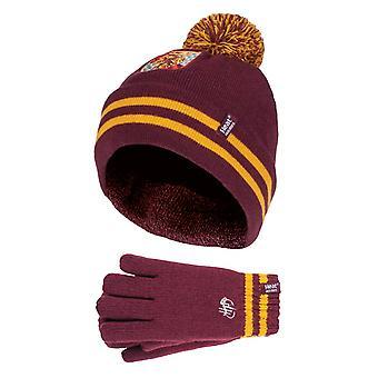 Kinder harry Potter Wintermütze & Handschuhe Set