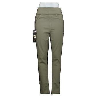 DG2 by Diane Gilman Women's Jeans MT Tall Virtual Stretch Green 739778