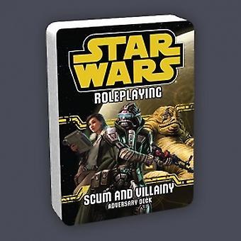 Star Wars Gioco di ruolo Feccia e Villainy Adversary Deck