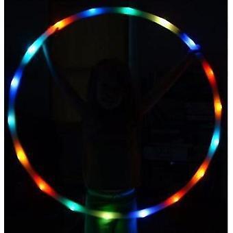 Led colorat Hula Hoop, Lumina Schimbarea Hoop Light Up Led Hoops pentru copii și adulți (Roșu)
