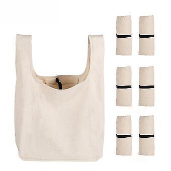 Vodotěsná Bento Skládací nákupní taška Bavlněná kabelka Obědová krabička Taška Bavlněná taška Buggy Bag