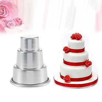 Diy Mini 3-tier Cupcake Pudding Chocolade Cake Mold Bakken Pan Mould Party
