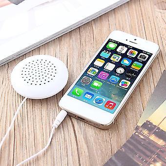 Mini bílý 3,5mm polštářový reproduktor pro Mp3 Mp4 přehrávač pro iphone pro rádio ipod CD