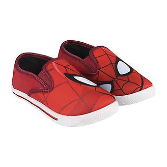 Children's Casual Trainers Spiderman 73614 Red