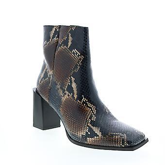 Aquatalia Adult Womens Emilee Snake Print Ankle & Booties Boots