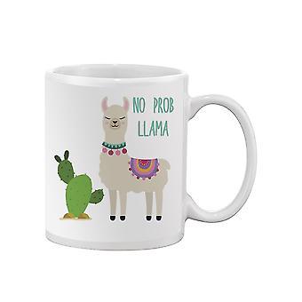 No Prob Llama Cactus Mug -SPIdeals Mallit