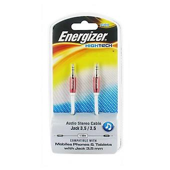 Jack Cable Energizer LCAEHJACKRE2 HighTech 1.5 m Red