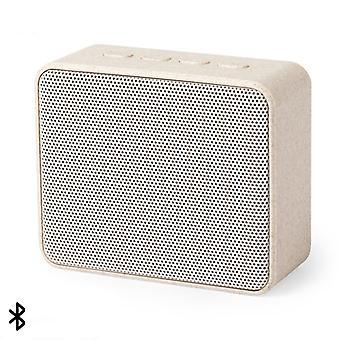 بلوتوث مكبرات الصوت 3W 146541 قش القمح القيمة المطلقة