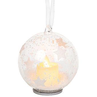 Bougie de Noël Bauble Stars