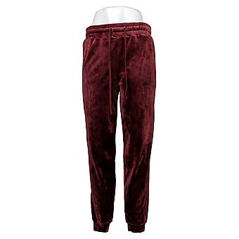 Soft & Cozy Women's Pants Reg Polyester Jogger Red 627589