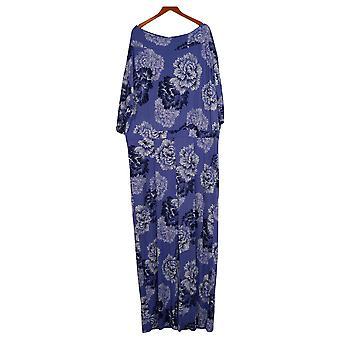 IMAN Global Chic Jumpsuits Bateau-Neck Jumpsuit Purple One-Piece 694118