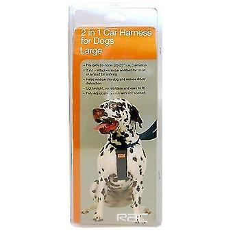 Pet collars harnesses rac car harness  large
