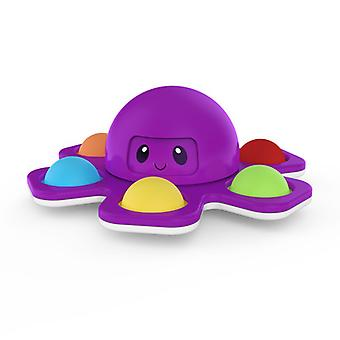 Odwróć Brelok ekspresji ośmiornicy, aby rozpakować zabawkę Octopus Anti Stress 01