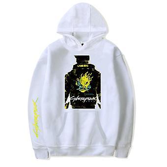 Cyberpunk 2077 Sweatshirt Kapuzen Kapuzen Candy Farbe Außen