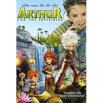 Arthur & the Invisibiles [DVD] USA import