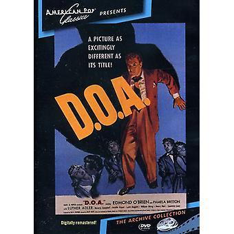 D.O.a. (1950) importer des USA [DVD]