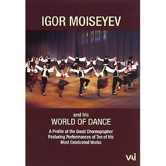 Igor Moiseyev & His World of Dance [DVD] USA import
