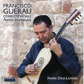 Guerau - Guerau: Poema Harmonica-Complete Works for Guita [CD] USA import