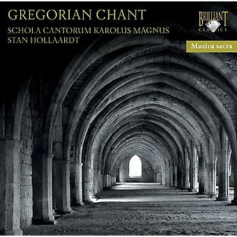 Schola Cantorum Karolus Magnus - Gregorian Chant [CD] USA import